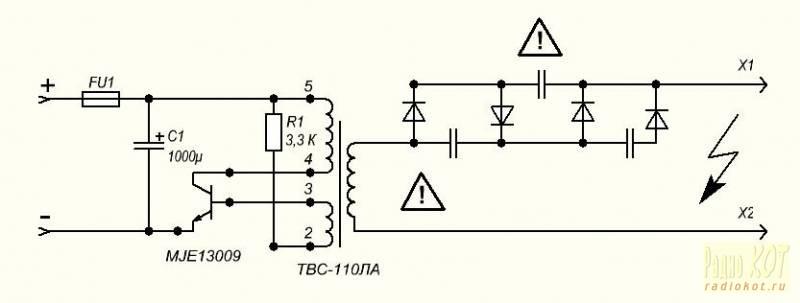 Как сделать блок генератор 95