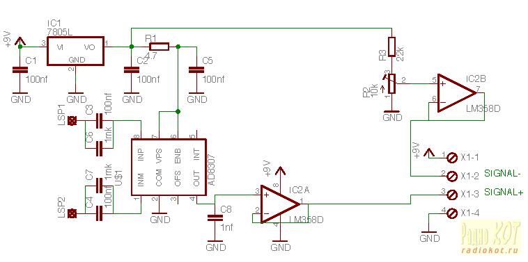 Микросхемы логaрифмических усилителей: http://twlwxt.appspot.com/mikroshemy-log.html