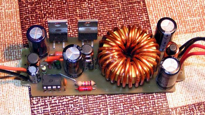 mc34063 схемы - Практическая схемотехника.