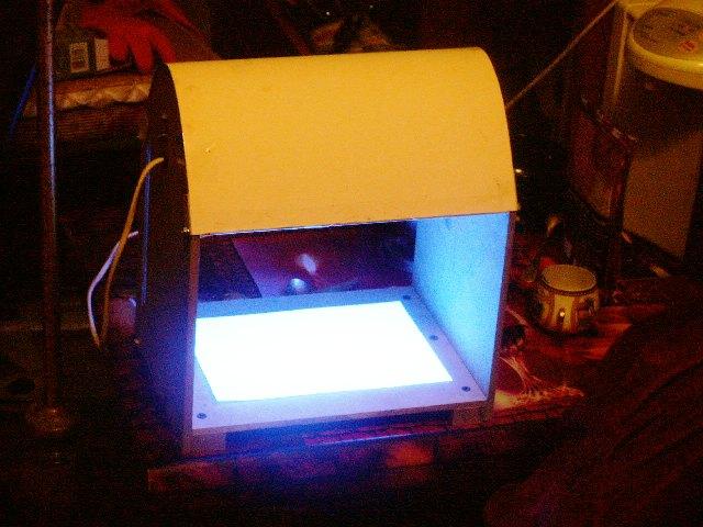 уф лампа для засветки фоторезиста именами называются
