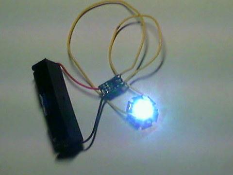 Как сделать так чтобы мигал фонарик