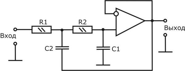 Сабвуфер на динамической головке 50гдн на двух резисторах на входе в схему нч фильтра в Сабвуфер своими руками рано...