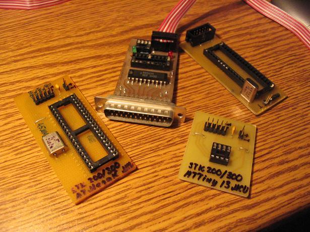 High Voltage Serial Programming Description - - AVR Dragon