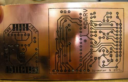 Изготовление печатных плат, ЛУТ технология.